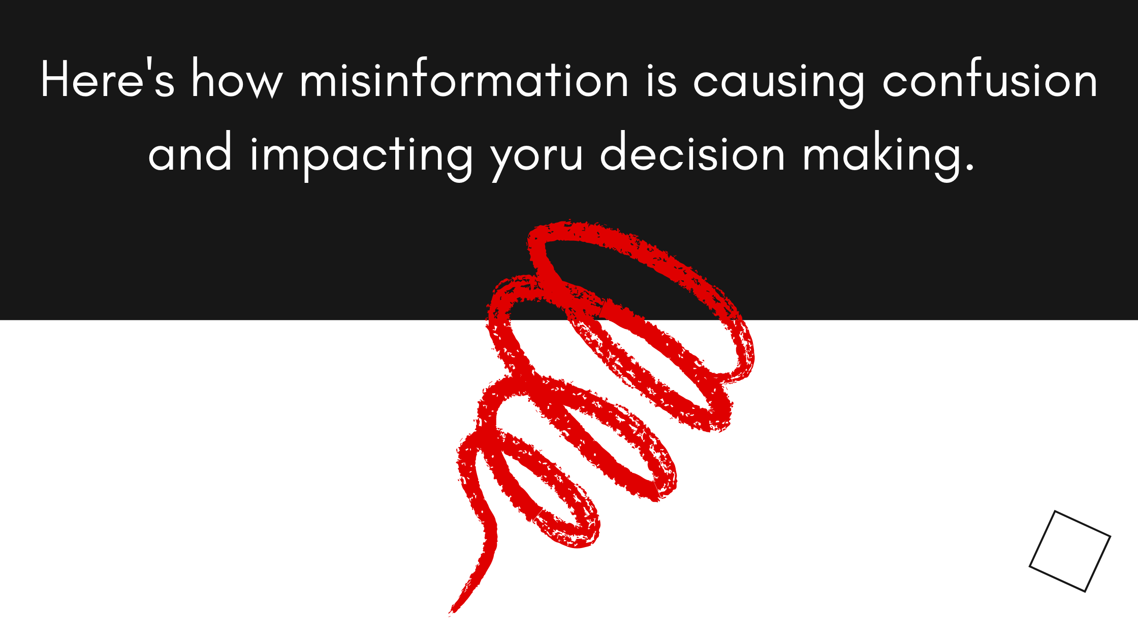 misinformation and mass confusion