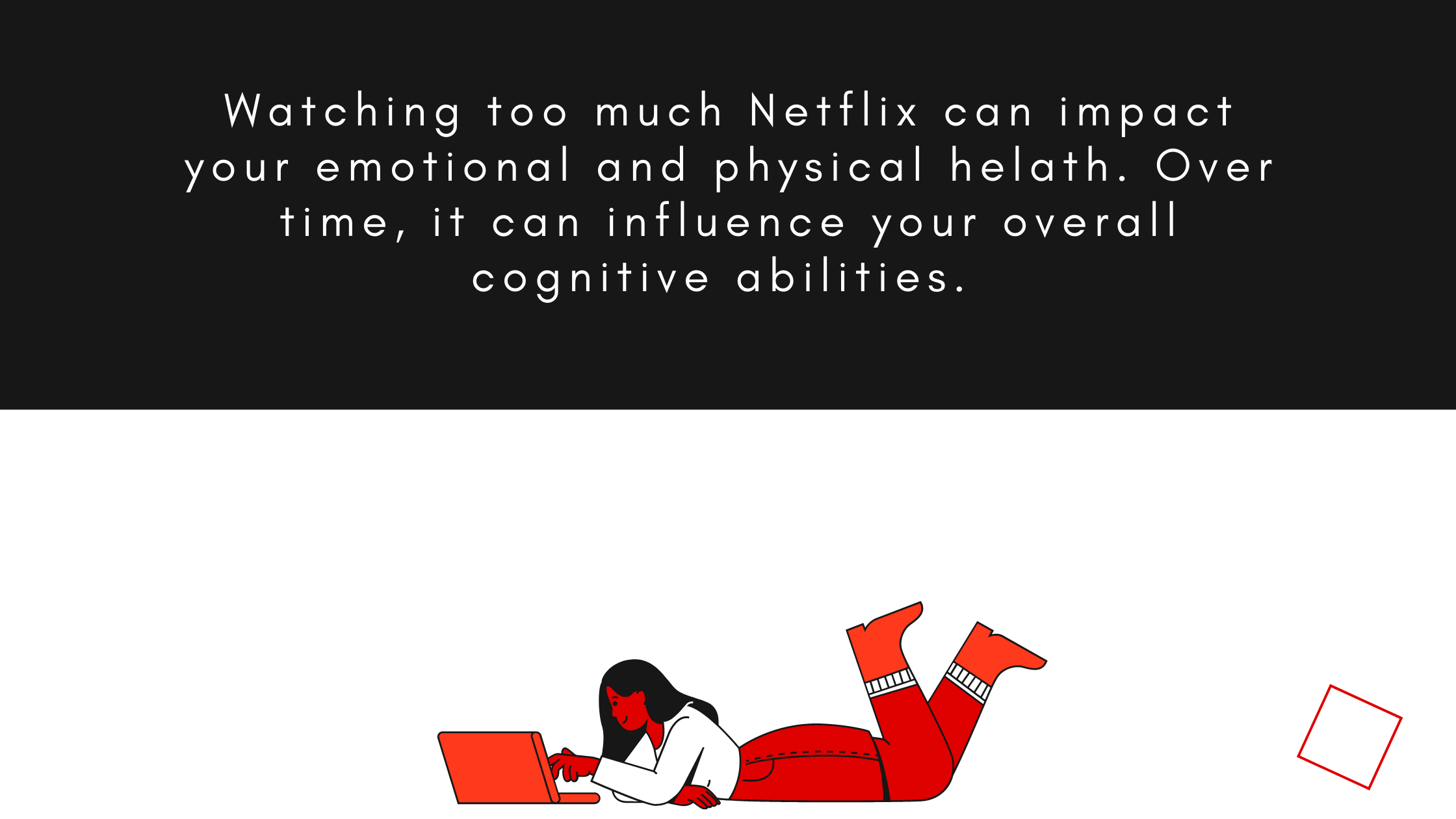 watching Netflix could fry your brain