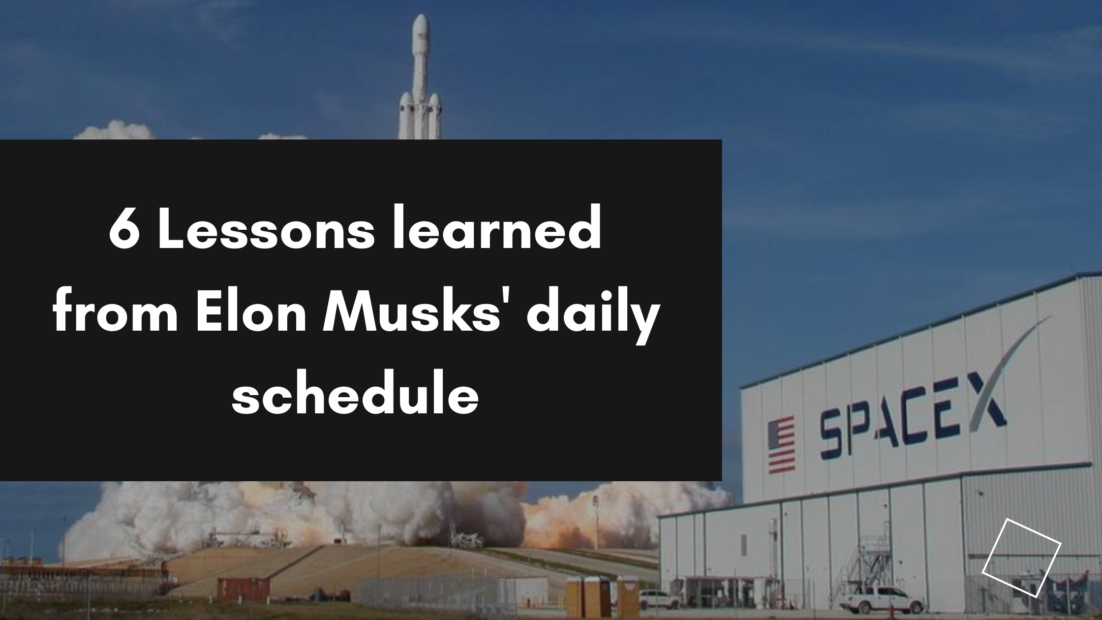 Elon Musk's daily schedule