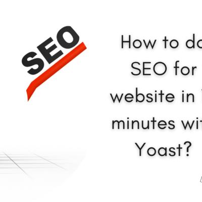 How to do SEO for website